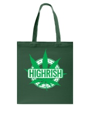Funny Irish Stoner Shirt Weed Tote Bag thumbnail