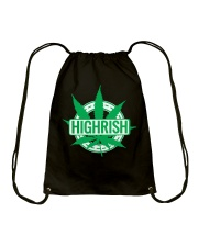 Funny Irish Stoner Shirt Weed Drawstring Bag thumbnail