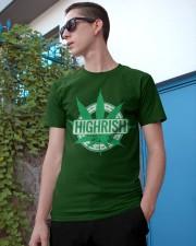 Funny Irish Stoner Shirt Weed Classic T-Shirt apparel-classic-tshirt-lifestyle-17