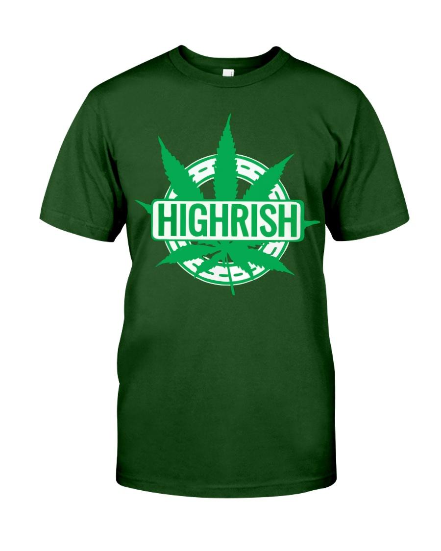 Funny Irish Stoner Shirt Weed Classic T-Shirt