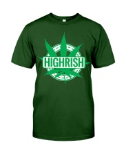 Funny Irish Stoner Shirt Weed Classic T-Shirt front