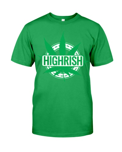 Funny Irish Stoner Shirt Weed