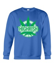 Funny Irish Stoner Shirt Weed Crewneck Sweatshirt tile