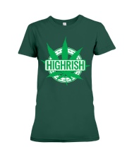 Funny Irish Stoner Shirt Weed Premium Fit Ladies Tee thumbnail