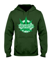 Funny Irish Stoner Shirt Weed Hooded Sweatshirt thumbnail
