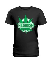Funny Irish Stoner Shirt Weed Ladies T-Shirt thumbnail