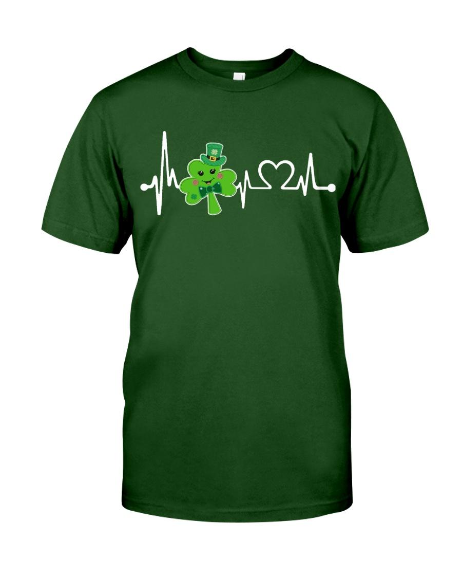 Shamrock Heartbeat Classic T-Shirt
