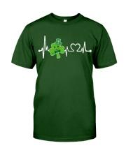Shamrock Heartbeat Classic T-Shirt front