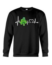 Shamrock Heartbeat Crewneck Sweatshirt thumbnail