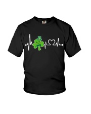 Shamrock Heartbeat Youth T-Shirt tile
