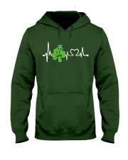 Shamrock Heartbeat Hooded Sweatshirt thumbnail