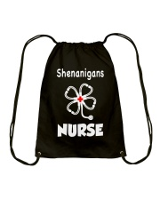 shenanigans nurse Drawstring Bag thumbnail