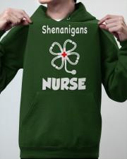 shenanigans nurse Hooded Sweatshirt apparel-hooded-sweatshirt-lifestyle-front-46