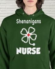 shenanigans nurse Hooded Sweatshirt apparel-hooded-sweatshirt-lifestyle-front-57