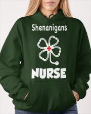 shenanigans nurse Hooded Sweatshirt apparel-hooded-sweatshirt-lifestyle-front-85
