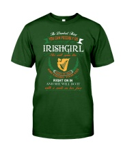 Irish Girl Classic T-Shirt tile