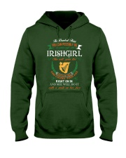 Irish Girl Hooded Sweatshirt front
