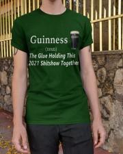 Guinness Glue 2021 Classic T-Shirt apparel-classic-tshirt-lifestyle-21