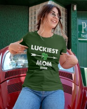 Luckiest Mom Ever Ladies T-Shirt apparel-ladies-t-shirt-lifestyle-01