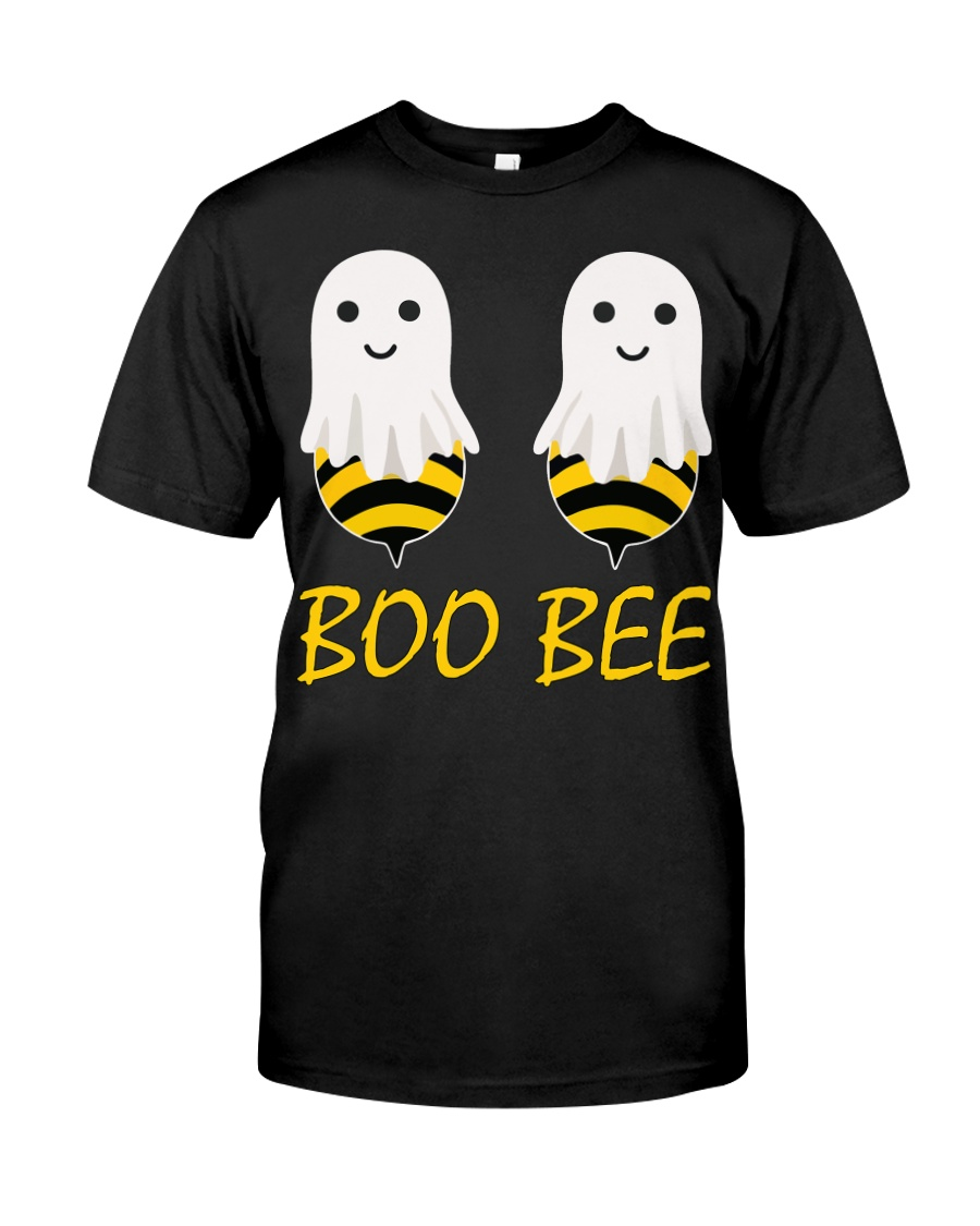Boo Bees Couples Halloween Costume Funny Classic T-Shirt