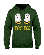 Boo Bees Couples Halloween Costume Funny Hooded Sweatshirt thumbnail