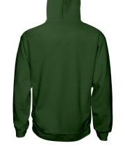 Educated Vaccinated Caffeinated Dedicated Hooded Sweatshirt back