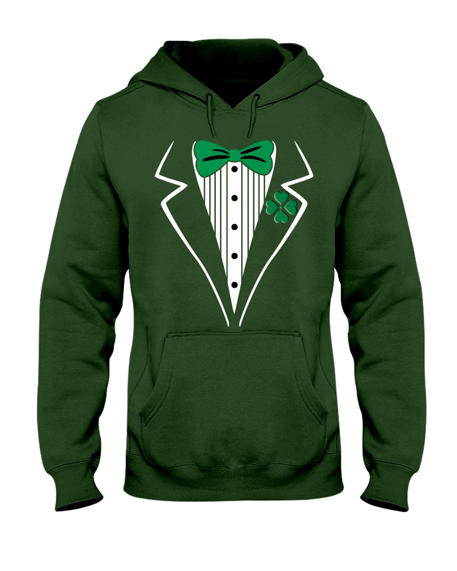 Irish Tuxedo Costume Hooded Sweatshirt