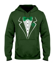 Irish Tuxedo Costume Hooded Sweatshirt front