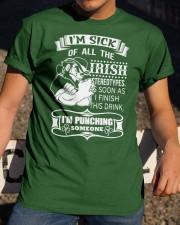 I'm Punching Someone Classic T-Shirt apparel-classic-tshirt-lifestyle-28