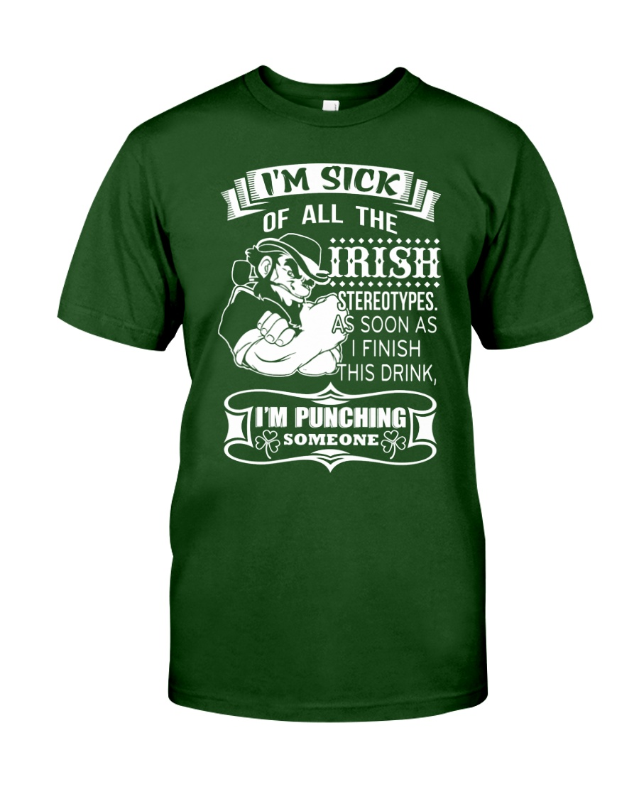 I'm Punching Someone Classic T-Shirt