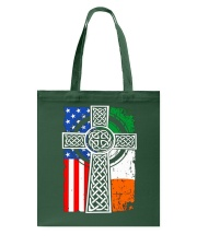 Irish American Flag Tote Bag tile