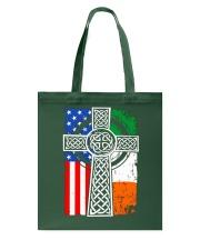 Irish American Flag Tote Bag thumbnail