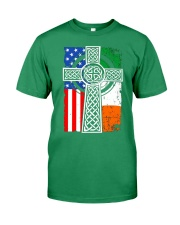Irish American Flag Premium Fit Mens Tee thumbnail
