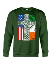 Irish American Flag Crewneck Sweatshirt thumbnail
