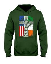 Irish American Flag Hooded Sweatshirt thumbnail