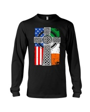 Irish American Flag Long Sleeve Tee tile