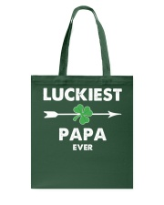 Luckiest PaPa ever Tote Bag thumbnail