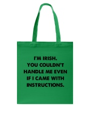 i'm Irish Tote Bag thumbnail