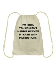 i'm Irish Drawstring Bag thumbnail