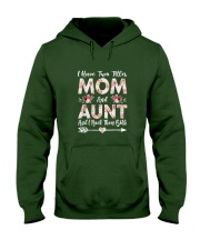 I Have Two Titles Mom And Aunt Flowers Hooded Sweatshirt thumbnail