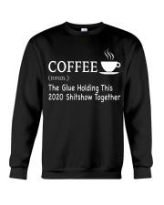 Coffee Glue 2020 Crewneck Sweatshirt thumbnail