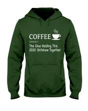 Coffee Glue 2020 Hooded Sweatshirt thumbnail
