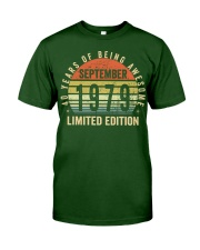 Born September 1979 Limited Edition Bday Gifts 40t Classic T-Shirt thumbnail