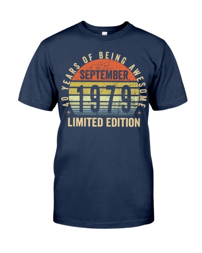 Born September 1979 Limited Edition Bday Gifts 40t