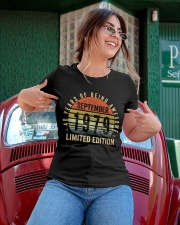 Born September 1979 Limited Edition Bday Gifts 40t Ladies T-Shirt apparel-ladies-t-shirt-lifestyle-01