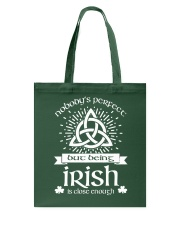 Being Irish Tote Bag tile