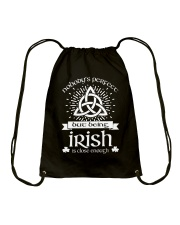 Being Irish Drawstring Bag thumbnail