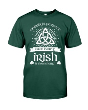 Being Irish Premium Fit Mens Tee front