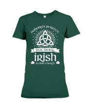 Being Irish Premium Fit Ladies Tee tile