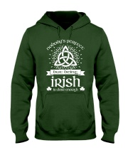 Being Irish Hooded Sweatshirt thumbnail